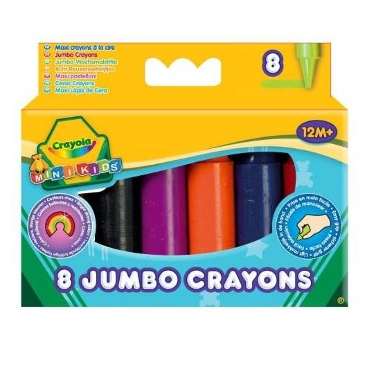 Kredki świecowe Crayola Mini Kids, 8 kolorów (0080)