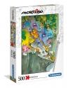 Clementoni, Puzzle 500: Mordillo - The Surender (35080)