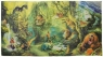 Mata Dywan Koc na podłogę Dżungla 108x58