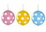 Balon gumowy Godan GROCHY IŁKI Z GUMKĄ 3 szt mix 450 mm (GB/PG40)