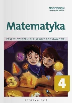 Matematyka SP 4 Zeszyt ćwiczeń OPERON Adam Konstantynowicz, Anna Konstantynowicz, Bożen