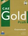 CAE Gold Plus Coursebook z płytą CD Kenny Nick, Newbrook Jacky, Acklam Richard