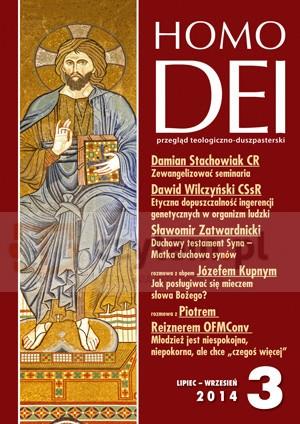 Kwartalnik Homo Dei nr 3 (312)/2014 Praca zbiorowa