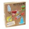 Re-Cycle-Me Zestaw Kreatywny Samolot 5 zabawek