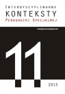 Interdyscyplinarne Konteksty Pedagogiki Specjalnej 11/2015