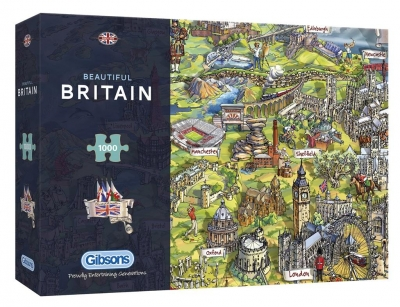 Puzzle 1000 Piękna Brytania G3