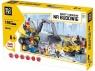 Klocki Blocki: Na budowie Roboty drogowe 196 elementów (KB6092)