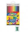 Kredki ołówkowe okrągłe - Jumbo 10 kolorów (33091PTR)
