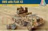 ITALERI SWS w 3,7cm Flak 43 (6480)