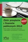 Zbiór przepisów z finansów publicznych 2012