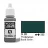 VALLEJO Farba Nr100 Black Green 17ml (70980)