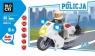 Klocki Blocki Policja Motocykl 30 elementów (KB6734)