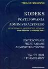 Kodeks postępowania administracyjnego Postępowanie przed sądami administracyjnymi Wzory pism i formularzy