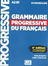 Grammaire progressive niveau intermediaire A2 B1 +CD