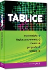 Tablice: matematyka, fizyka z astronomią, chemia, geografia, biologia (twarda oprawa)