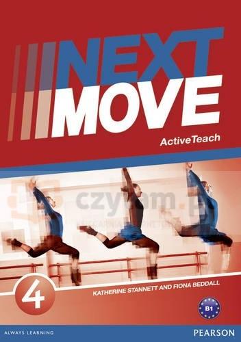 Next Move 4 Active Teach - książka