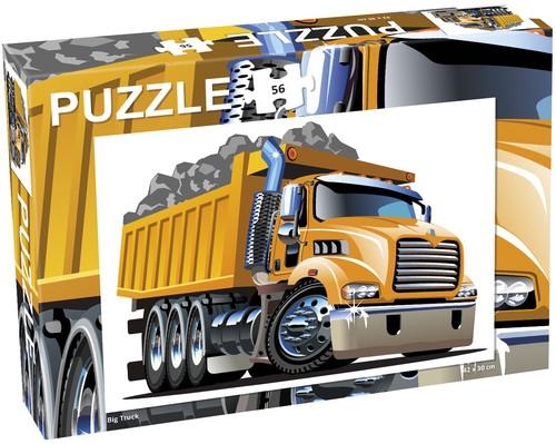 Puzzle 56: Ciężarówka, Big truck