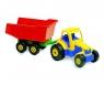 Traktor z przyczepą Adriatic kolor