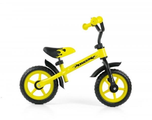 Rowerek biegowy Dragon żółlty (0806)
