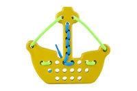 Przeszywanka Statek piracki żółty