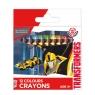 Kredki woskowe 12 kolorów Transformers