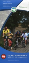 Szlaki rowerowe powiatu koszalińskiego mapa turystyczna 1:55 000
