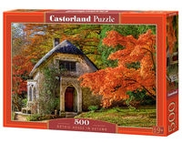Puzzle Gothic House in Autumn 500 (B-52806)