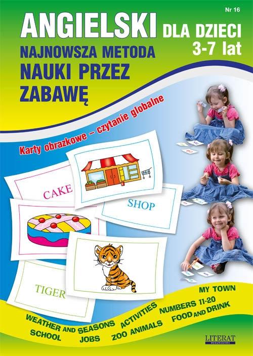 Angielski dla dzieci 3-7 lat Zeszyt 16 Piechocka-Empel Katarzyna