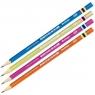 Berlingo: Ołówek Color Zone, HB, trójkątny, zaostrzony mix kolorów