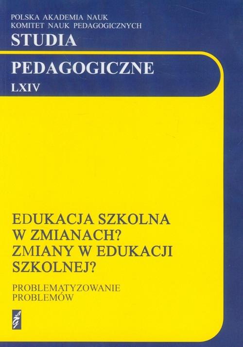 Studia pedagogiczne LXIV