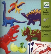 Zestaw Ruchome Postacie Dinozaury