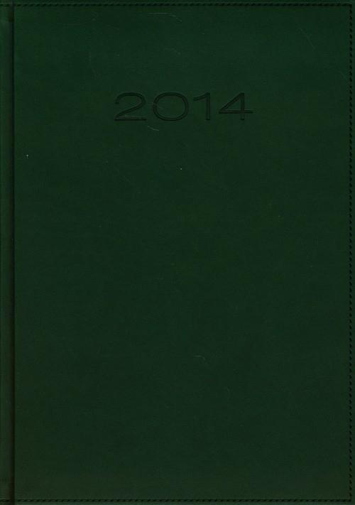 Kalendarz 2014 B5 51D Zielony menadżerski dzienny
