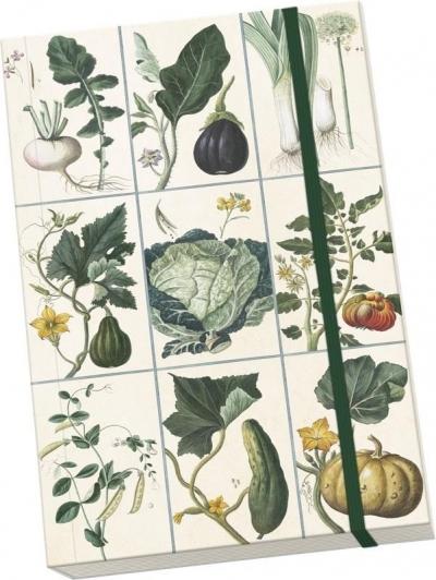 Notatnik ozdobny A5 STNOTE 80 Warzywa