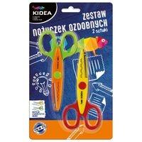 Zestaw nożyczek ozdobnych 2 sztuki (Z2NOKA)