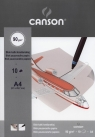 Blok kalki kreślarskiej A4 Canson 10 kartek Samolot