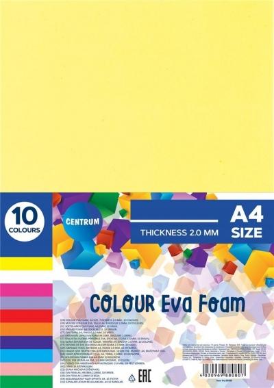 Pianka kolorowa Eva A4 10 kolorów