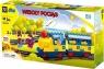 Klocki blocki: MUBI. Wesoły pociąg 36 elementów (MU6188D)