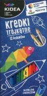 Kredki trójkątne Kidea 12 kolorów