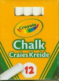 Kreda Crayola niepyląca biała 12 szt (0280)