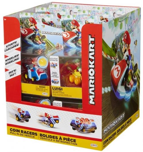 Super Mario Wyścigówki z monetą S1