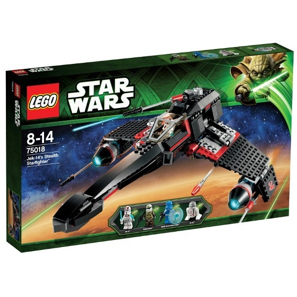 LEGO Star Wars JEK-14 s Stealth Starfigh