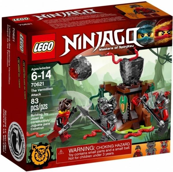 Ninjago Atak Cynobru (70621)