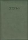 Kalendarz 2014 B5 51D Szary menadżerski dzienny