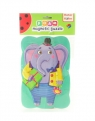 Puzzle magnetyczne piankowe - Słoń