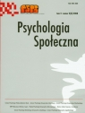 Psychologia społeczna Tom 3 3(8) 2008