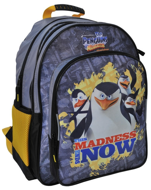 Plecak szkolny Pingwiny