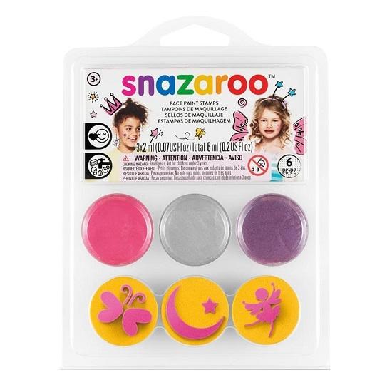 Farby do twarzy ze stempelkami Snazaroo - Wróżki (118504)