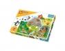 Puzzle Maxi 15: Zwierzątka i ich domki