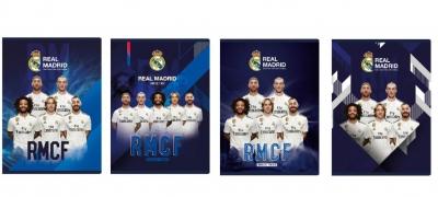 Zeszyt MO A5/16K trzy linie Real Madrid (20szt)