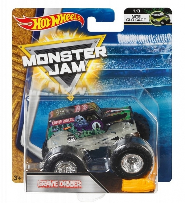 Hot Wheels Monster Jam Grave Digger samochodzik (BHP37)